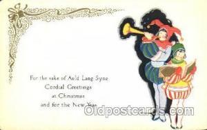 Christmas Postcard Postcards