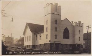 RP; Sixth Avenue Methodist Church, Vancouver, British Columbia, Canada, PU-1910
