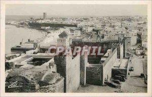 Postcard Modern Rabat general view taken from the terrace of Oudaias