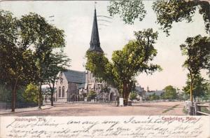 Massachusetts Cambridge The Washington Elm 1905