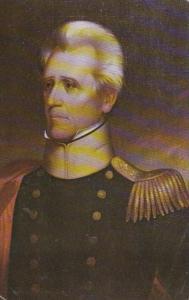 Military Portrait Of General Andrew Jackson 1968