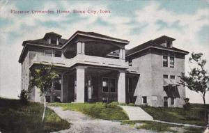 Iowa Sioux City Florence Crittenden Home 1920