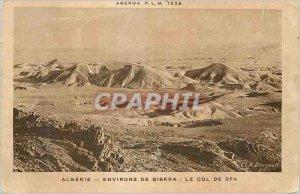 Postcard Old Algeria Biskra surroundings Col Sfa
