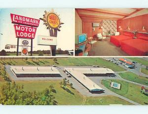 Unused Pre-1980 HOJO - HOWARD JOHNSON'S MOTEL & RESTAURANT Glens Falls NY r1184