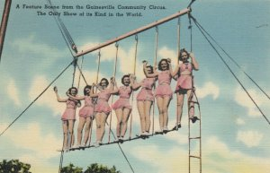 GAINESVILLE , Florida , 1930-40s ; Community Circus