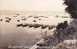 Michigan Prudenville Houghton Lake Real Photo RPPC