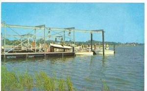 Yacht Club Basin, Brunswick , Georgia, 1940-1960s