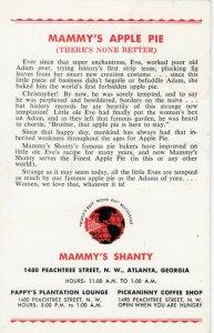 ATLANTA , Georgia , 1950-60s ; Mammy's Shanty
