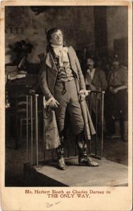 CPA MR. HERBERT SLEATH AS CHARLES DARNAY THEATER STAR (11140)