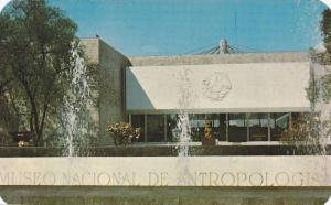 Entrance to the fabulous Anthropological Museum,  Chapultepec,   Mexico,  40-60s