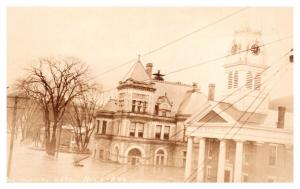 Vermont  Montpelier,  Flooded Post Office & Washington Cty. Court House , RPC