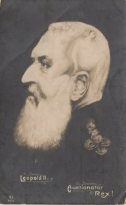 RP: Leopold II , Auctionator Rex! , Metamorphic Portrait , 00-10s
