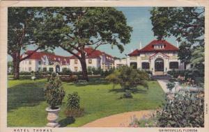 Florida Gainesville Hotel Thomas 1951