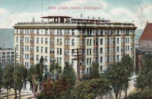 SEATTLE, Washington, 1900-10s; Hotel Lincoln