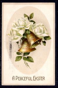 Apeaceful Easter,Bells,Roses