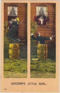 Goodbye Little Girl Vauldeville Comics Anglo Series Humor Comic pm 1908