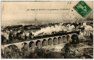 CPA AK ROYAT Viaduc de ROYAT et vue generale sur Clermont (721421)