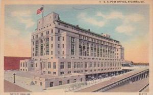 Georgia Atlanta Post Office 1939 Curteich