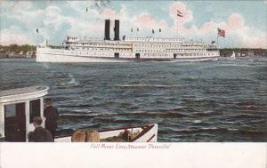 Fall River Line Steamer Priscilla 1907