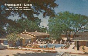 CARMEL-by-the-SEA, California, 1950-60s ; Svendsgaard's Lodge, Swimming Pool