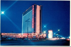 Nevada Las Vegas Hotel Tropicana At Night