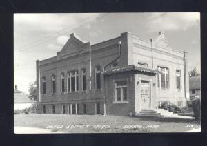 RPPC SEWARD NEBRASKA UNITED BRETHREN CHURCH VINTAGE REAL PHOTO POSTCARD