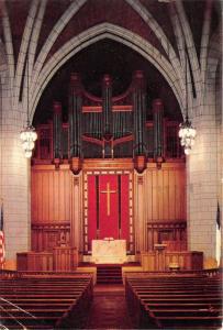 Minneapolis Minnesota~Hennepin Ave Methodist Church~Sanctuary Chancel-Altar~1956