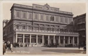 Egypt Alexandria The Exchange Bank Building Real Photo