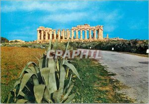 Postcard Modern Selinunte Tempio di Gluacas