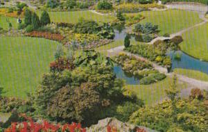 Canada Quarry Gardens Queen Elizabeth Park Vancouver British Columbia