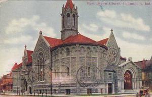 First Baptist Church, Indianapolis, Indiana, PU-1911