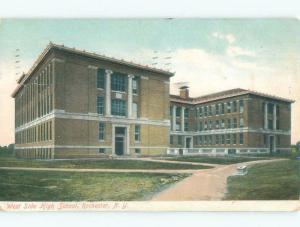 Divided-Back HIGH SCHOOL SCENE Rochester New York NY E2501