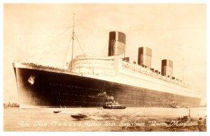 Queen Mary,  Cunard White Star Line
