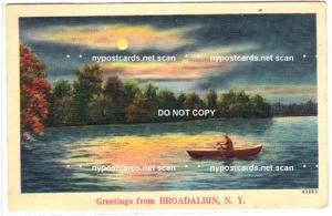 Greetings from, Broadalbin NY