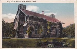 Michigan Detroit Log Cabin Palmer Park