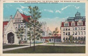 Illinois Chicago Hull Gateway Hutchinson Hall The Mitchell Tower The Reynold ...