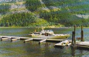 Steamer M V Gardina Indian Arm British Columbia