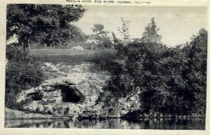Devils Cave, Fox River Aurora IL 1944