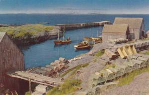 Scenery at Blue Rocks NS, Nova Scotia, Canada - pm 1953