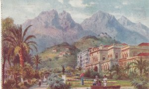 MENTON, France, 1900-10s; Les Jardin, Casino ; TUCK 119