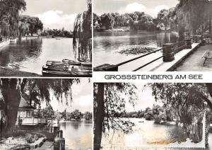 Grosssteinberg am See Kr Grimma Lake Boats Bateaux Forest