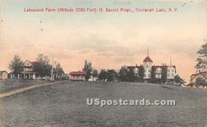 Lakewood Farm Tennanah Lake NY Unused