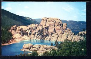 Sylvan Lake,Custer State Park,Black Hills,SD BIN