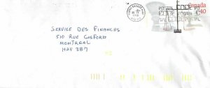 Entier Postal Stationery Postal Justice Canada Balance