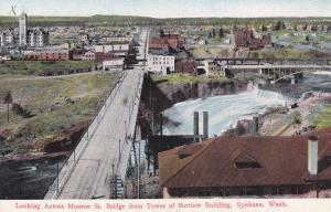 Looking across Monroe St Bridge , SPOKANE , Washigton , 00-10s