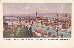 Italy Firenze Pension Jennings-Riccioli