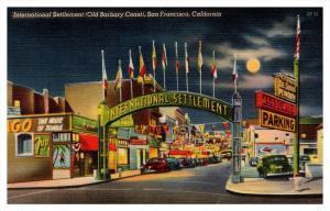 California  San Francisco , International Settlement