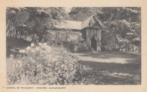 School of Philosophy . CONCORD , Mass. , 1910s