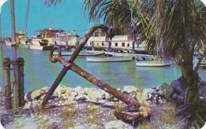 Florida Thompson's Dock At Marathon In The Florida Keys