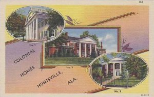 Alabama Huntsville Colonial Homes